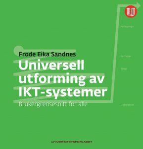 Universell utforming av IKT-systemer - bokomslag