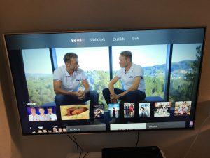 Startside Apple TV App