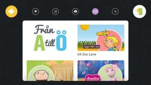SF Kids app - illustrasjon av tidskontroll