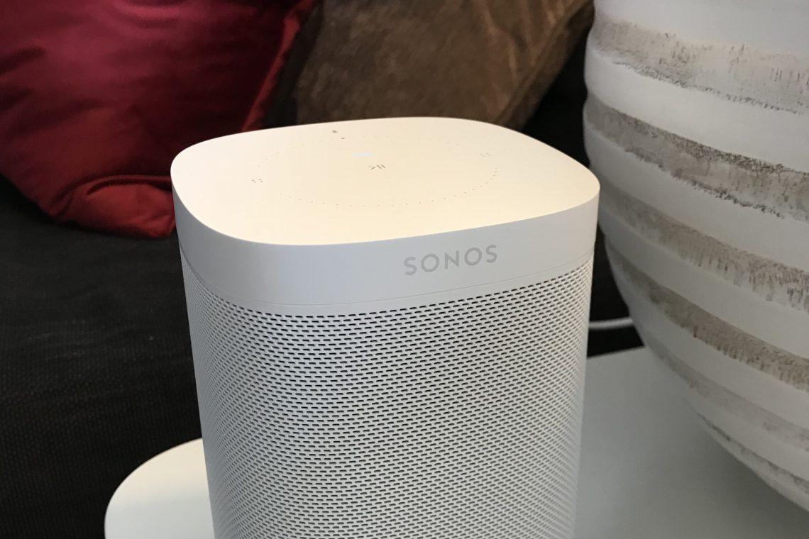 Forsidebilde - smart høyttaler Sonos One