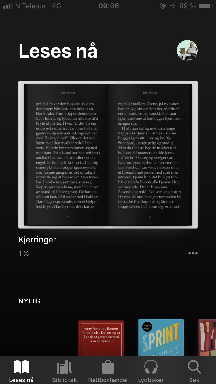 Books - mørkt design