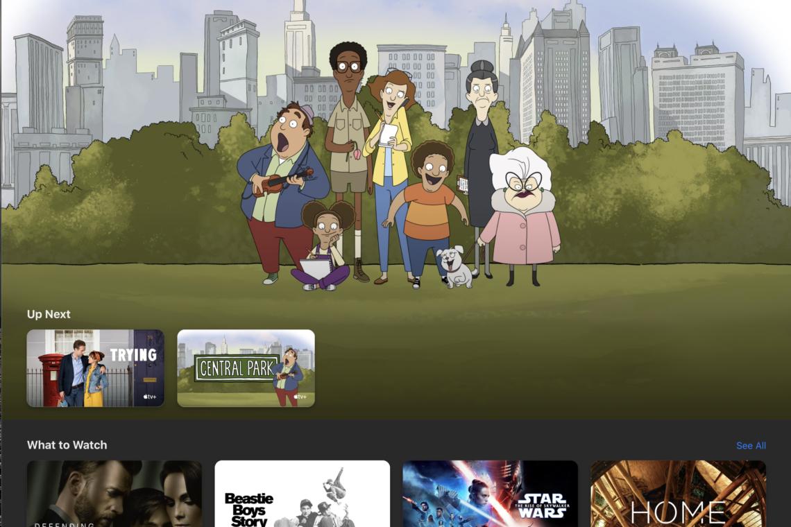 Forsidebilde til innlegget: En anderledes streaming hverdag - Apple TV App 27-04-2020.