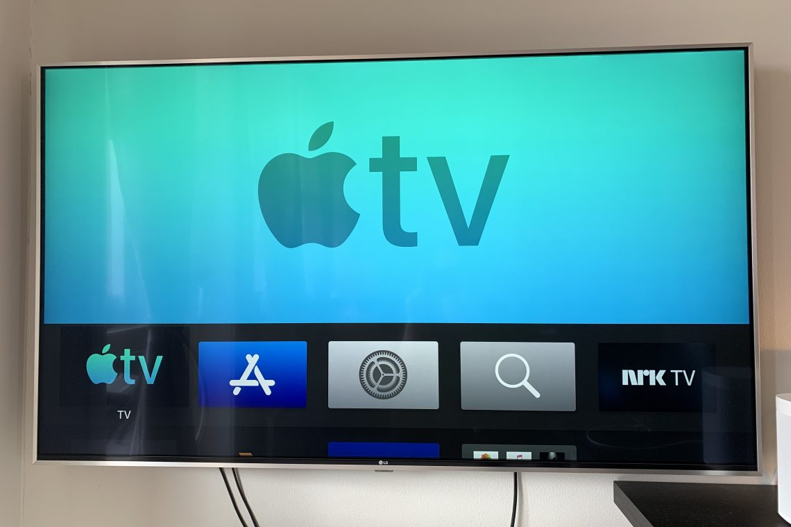 Forsidebilde - Apple TV logo