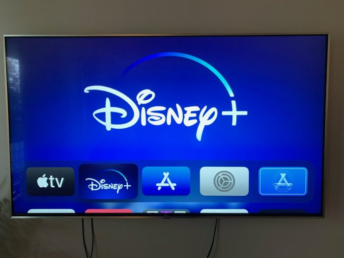 Disney+ på Apple TV 4K