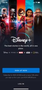 Disney+ iPhone