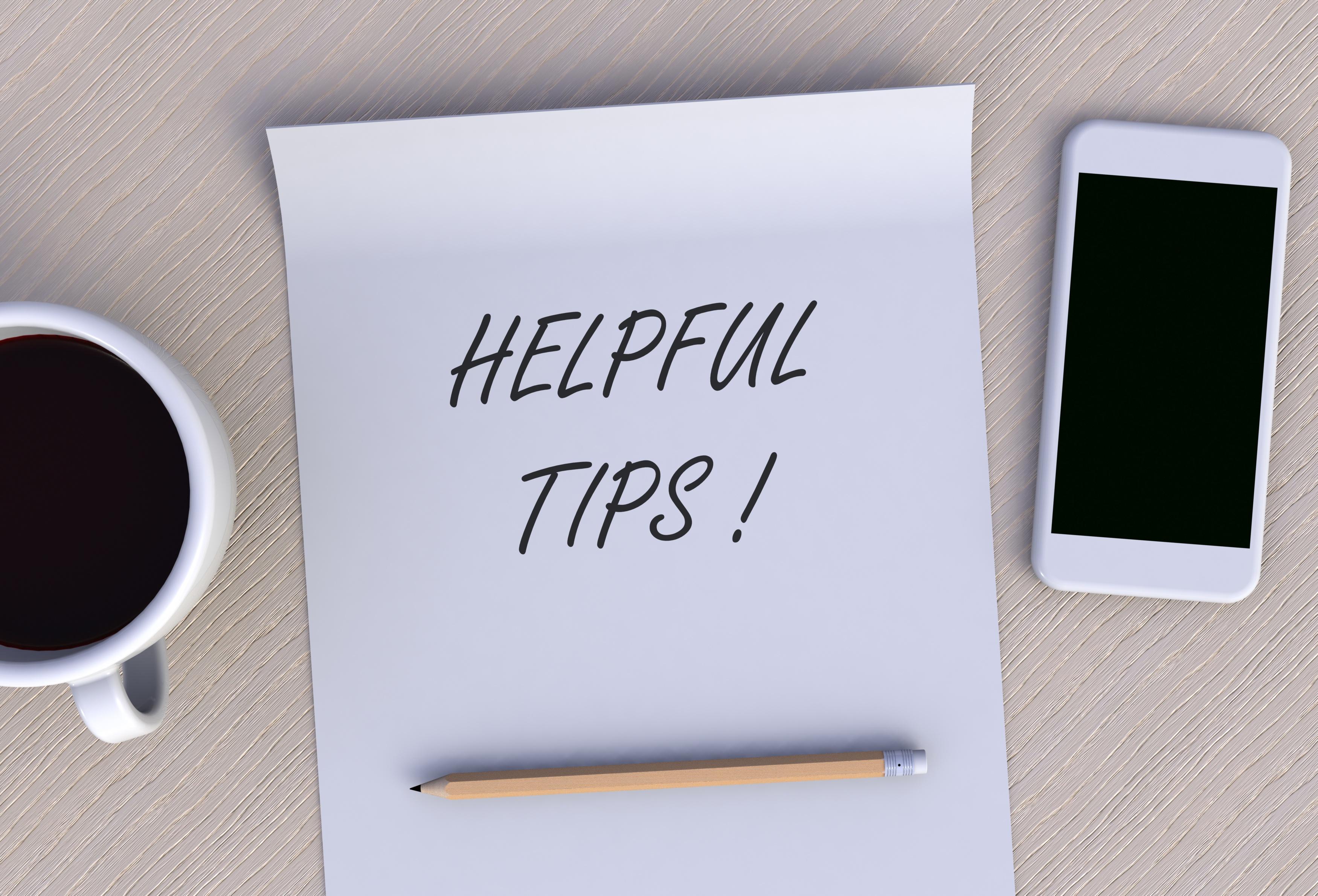 Forside - Hjelpsomme tips