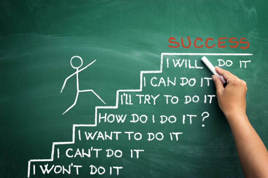 Forsidebilde - motivasjon - Trapp med steg